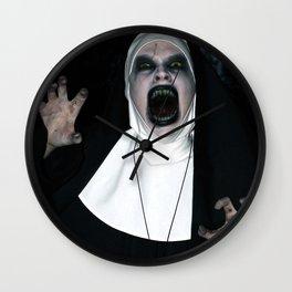 Valak Screaming Wall Clock