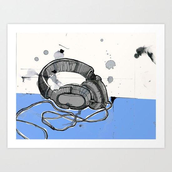 Listen Up Art Print