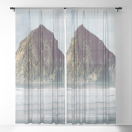 West Coast Wonder - Nature Photography Sheer Curtain