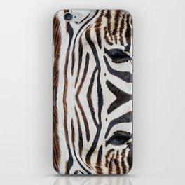 EYE OF THE ZEBRA iPhone Skin