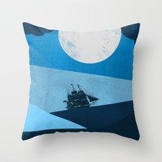 Solo Ocean Trip Throw Pillow