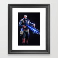 Soldier 76 v1 Framed Art Print