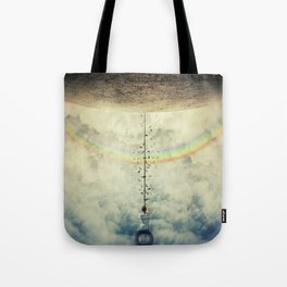swing over the rainbow Tote Bag