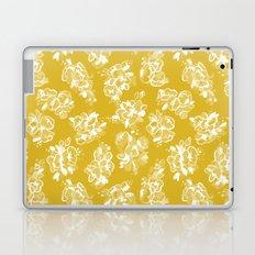Mustard Floral Laptop & iPad Skin