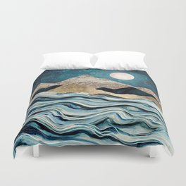 Indigo Sea Duvet Cover