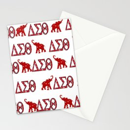 Elephants and Paiseley Stationery Cards