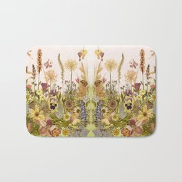 Pink Garden mirrored Bath Mat