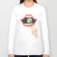 soul eater Long Sleeve T-shirts featuring Eater by Mira Maijala