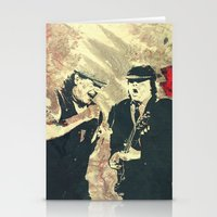 dc Stationery Cards featuring AC/DC by Nechifor Ionut