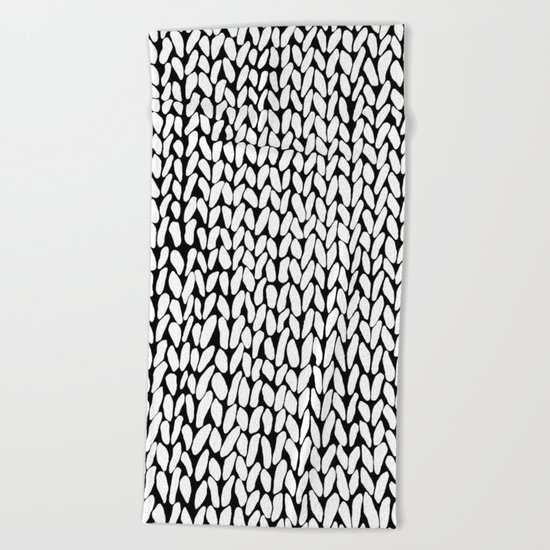 Hand Knitted Loops Beach Towel