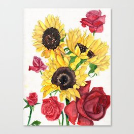 Happy Life Canvas Print