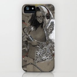 Holy Mother of HipHop Blessed Be Thy Beats. iPhone Case