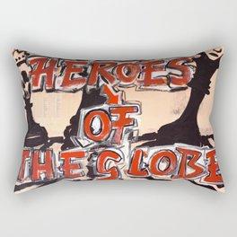 The Globe Theatre Rectangular Pillow