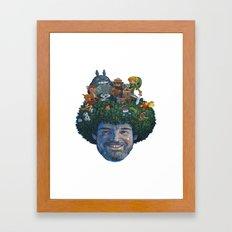 Bob Ross Framed Art Print