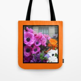 Flower Shop Window Tote Bag