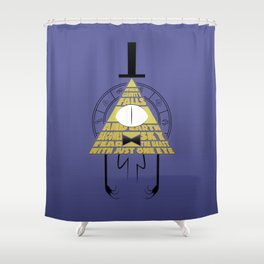 The beast with just one eye Shower Curtain