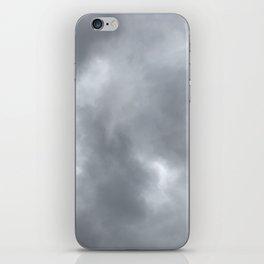 dreary sky iPhone Skin