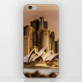 Sydney Cityscape iPhone Skin