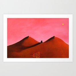 Lonely Valentine Art Print