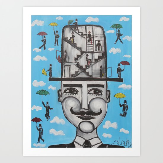 It's time for a new hat Mister Art Print