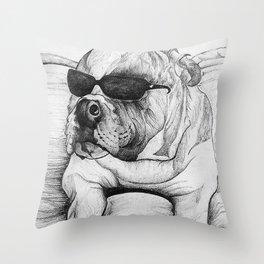 Ceasar Throw Pillow