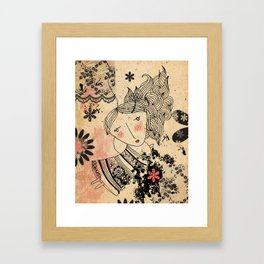 Lovely April Framed Art Print