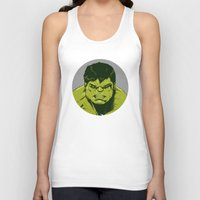 hulk Tank Tops featuring Hulk by Hazel