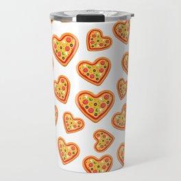 Pizza Love Travel Mug