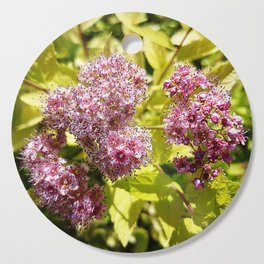Lilac flowers Cutting Board