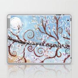 Watercolor Moonlight Illustration Laptop & iPad Skin