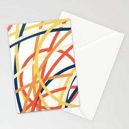 Geometric shape pattern nr 1918111 Stationery Cards