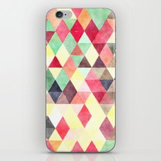 Triangles colors iPhone & iPod Skin