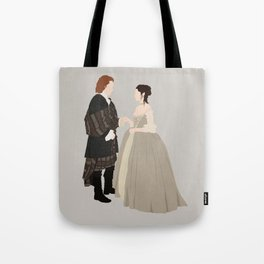 Outlander, Jamie and Claire Tote Bag