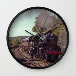 Severn Valley Token Wall Clock