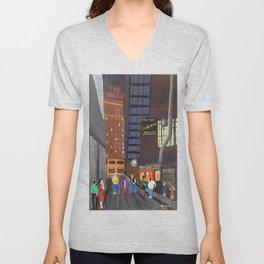 Rendezvous Alley, Memphis Unisex V-Neck