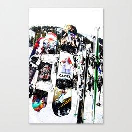 Snowboard Season Canvas Print