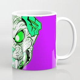 GREEN Demon Sphynx Cat Coffee Mug
