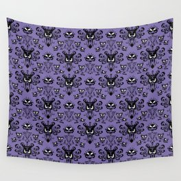Purple Wallpaper Wall Tapestry
