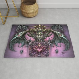 Heart of the Dragon Queen Rug