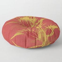 Color Adaptation - Macro Photography Floor Pillow