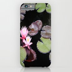 Lily pad flowers Slim Case iPhone 6s