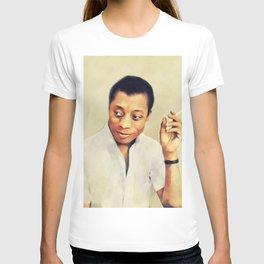 James Baldwin, Literary Legend T-shirt