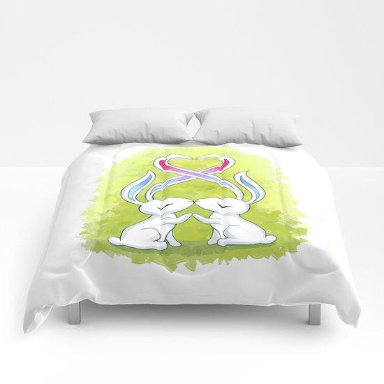 Bunny Kiss Comforters