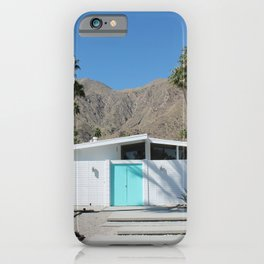 Palm Springs Paradise iPhone Case