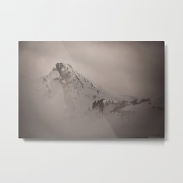 Felt Mountain (II) Metal Print