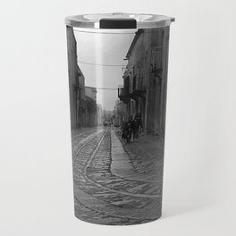 Children of Erice on the Isle of Sicily Travel Mug