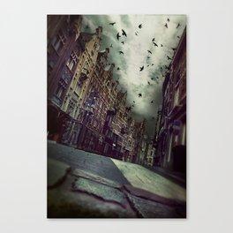 Architecture in Ghent, Belgium  Canvas Print