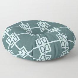 Formal Garden Paths Floor Pillow