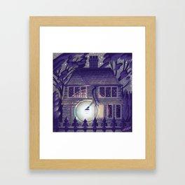 Greystone Lodge Framed Art Print