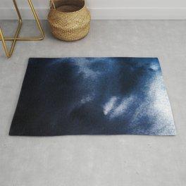 Watercolor Blue Rug